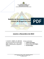 Relatorio Drogas Jan a Nov 2014 Cuiaba