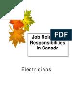 Electricians Rolesand Responsibilities
