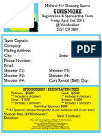 Midland 4-H Gunsmoke Registration Form