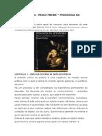 Resumo Do Livro de Paulo Freire Pedagogi Da Autonomia