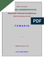 Muestra Temario Bolsa Aux Admtvos Diputac Salamanca