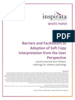 Barriers and Facilitators to Adoption of Soft Copy Interpretation from the User Perspective