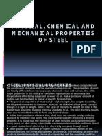 Properties of steel