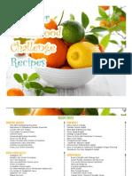 summer fresh food challenge recipes