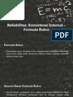 Formula Rulon