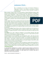 FOL01. Auto Orientació Professional
