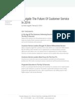 The Future of Customer Service