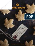 Quirk Books Fall 2015 Catalog