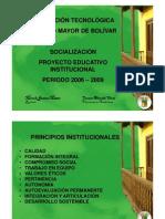 InstituciÓn TecnolÓgica Colegio Mayor de BolÍvar