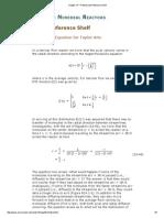 Chapter 14 Aris Diffusion Lminar Reactor