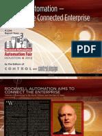 Automation Fair 2013 Enabling Connected Enterprise