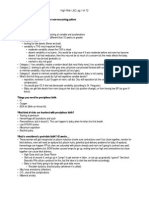 Ob Final Study Guide