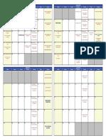 Comox Valley Kickers SPRING 2015 Calendar