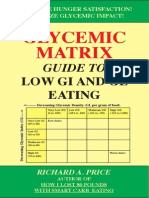 Glycemic Matrix Guide to Low GI and GL Eating