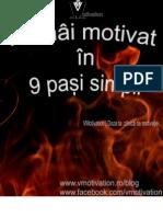 Ramai Motivat in 9 Pasi Simpli