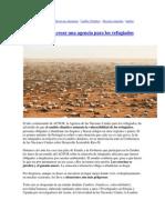 ACNUR y Nueva Agencia x Refigiados Ambientales