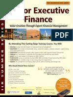 Senior Executive Finance