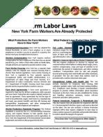 NYFB -- Farm Labor Laws