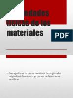Propiedades Fisicas y Quimicas de Los Materiales. - Copia