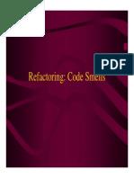 Refactoring Smells