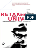 Retaking the Universe - William S. Burroughs in the Age of Globalization Edited by Davis Schneiderman and Philip Walsh