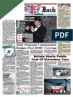 Union Jack News – March 2015