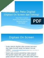 Pembuatan Peta Digital