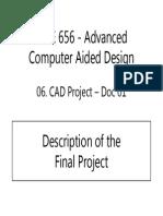 MAE 656 - 06-D1