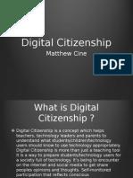 Cine Matthew Digital Citizenship