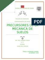 precursores de la mecanica de suelos