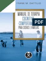 Manual de Terapia Cognitiva-Comportamental Para Casais e Famílias - Frank Dattilio