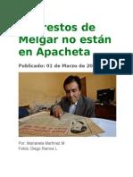 Los Restos de Melgar No Están en Apacheta