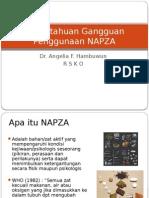 Pengetahuan Gangguan Penggunaan NAPZA