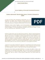 Análisis Robinsoniano_ Tasa de Interés, Ahorro, Inversión y Formación de Capital