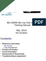 Training Manual BD-C6900