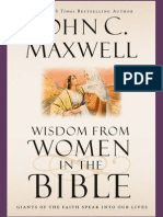 Wisdom From Women in the Bible by John C. Maxwell