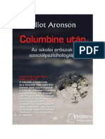 Elliot Aronson - Columbine Után