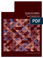Silabo Taller Diseño 1 - 2015-I