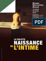 La Toilette Naissance de l'Intime Musée Marmottan