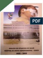 Asis Hospital Regional 2002