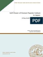 Soft Power of Korean Popular Culture in Japan