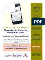 Clinton County Emergency Notification System