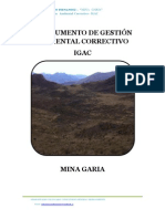 INTRUMENTO DE GESTIÓN AMBIENTAL CORRECTIVO