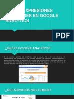 Uso de Expresiones Regulares en Google Analytics