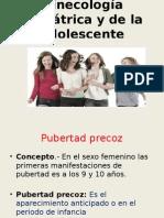 Ginecología Pediátrica y Adolecente
