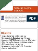 NR 23- Proteção Contra Incêndio- APRESENTAÇÃO