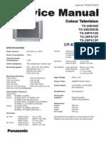Panasonic Tv TX29PS12 CP830FP