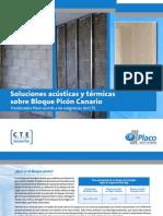 Soluciones Acústicas y Térmicas Bloque Picón Canario