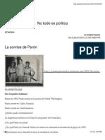 La sonrisa de Perón | Panamá