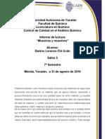 Informe Muestras y Muestreo 2003